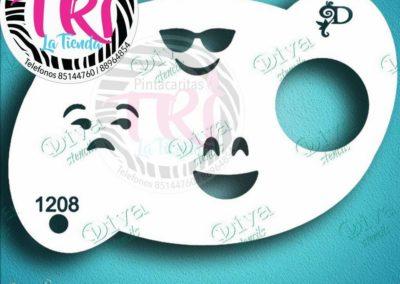 diva emoji lentes