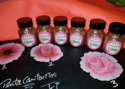 glitter rosa oro bot