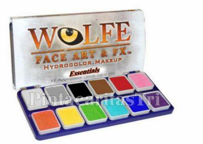 regleta wolfe 12 colores