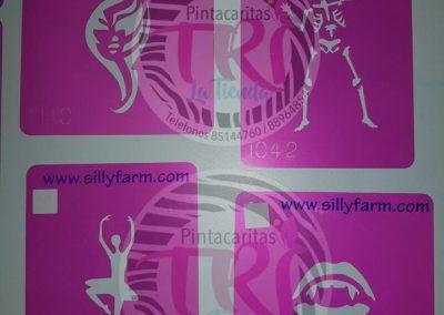 stencil pink power 2